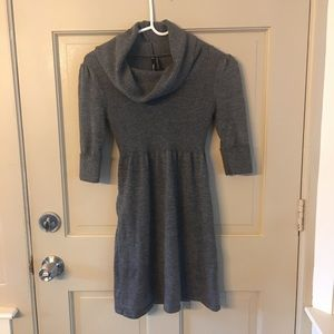 Cowl Neck Knit Tunic Top